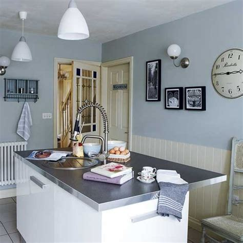 blue kitchen walls pale blue kitchen housetohome co uk