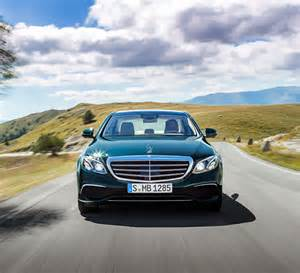 The Newest Mercedes The New Mercedes E Class 2016 Masterpiece Of