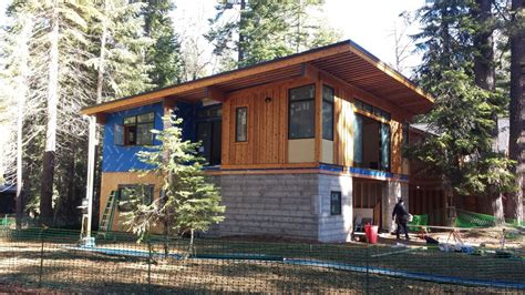 modular home construction modular home construction on the west shore of lake tahoe