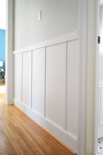 Home Depot Wainscoting Trim Our 57 Board And Batten Tutorial It S Surprisingly Easy
