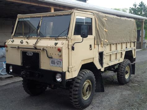 land rover 101 mil spec forward control land rover 101 fc one ton