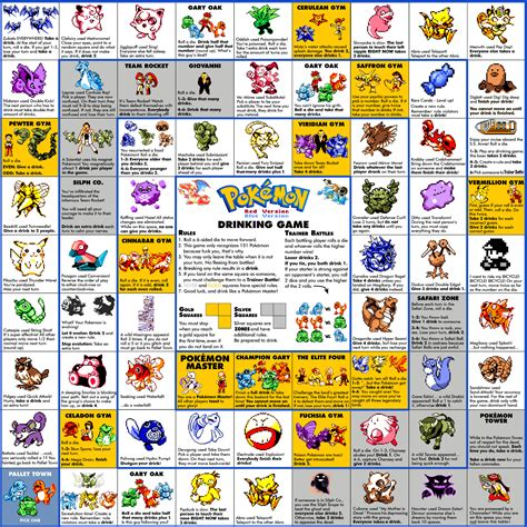 printable drinking board games pokemon drinking board game printable images pokemon images