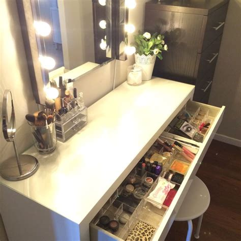 Malm Drawer Divider by Inside The Drawer Malm Vanity Obsession