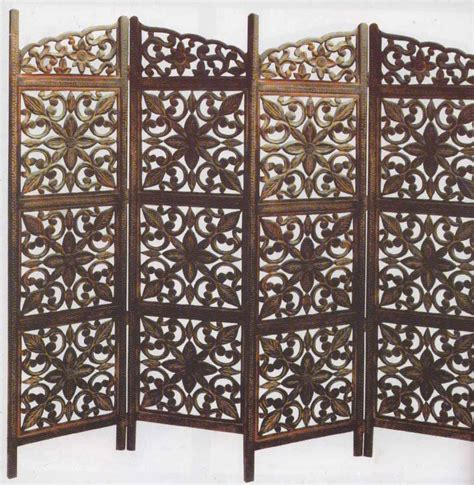 Room Dividers India Buy Shilpi Wooden Room Divider Screen In India