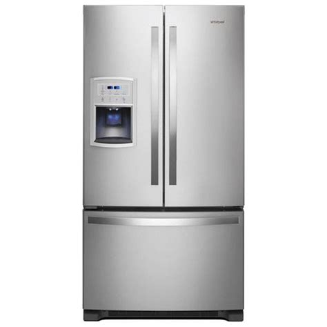 cabinet depth french door refrigerator reviews wrf550cdhz whirlpool 36 quot 20 cu ft counter depth french