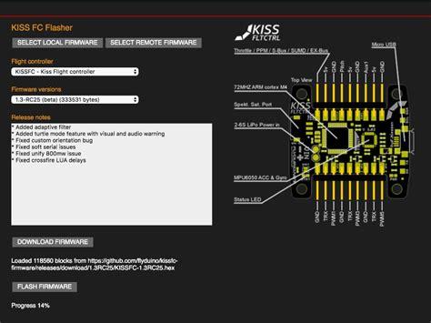 kiss fc tutorial kiss fc 32 bits controladora de vuelo drone fpv madrid