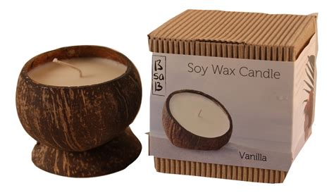 Coconut Candles Bsab Large Coconut Shell Candle Candles Naturally