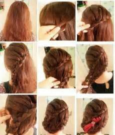 step by step guide to a beauitful hairstyle peinados f 225 ciles con trenzas tutorial las cosas de krystel