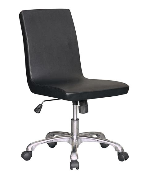 armless desk chair with wheels office desk chair armless desk chair