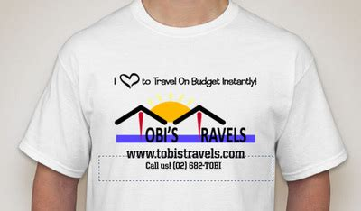 T Shirt Traveling Indonesia Tees80 t shirt launch tobi s travel tour services inc