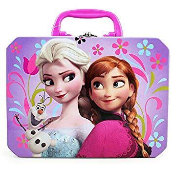 Disney Frozen Lunch Box Pink disney frozen elsa olaf deluxe purple
