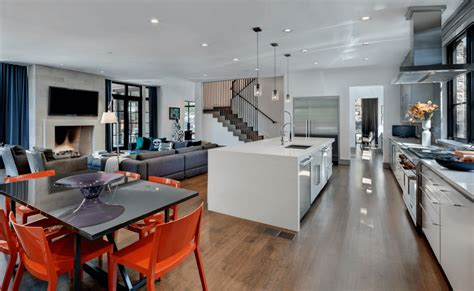 Modern Open Floor Plan modern open floor plan