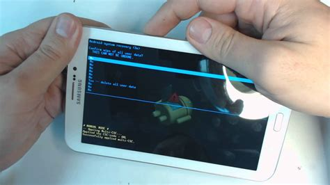 reset step count on vivosmart samsung galaxy tab 3 sm t211 hard reset youtube
