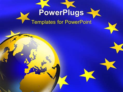 powerpoint template the representation of european union