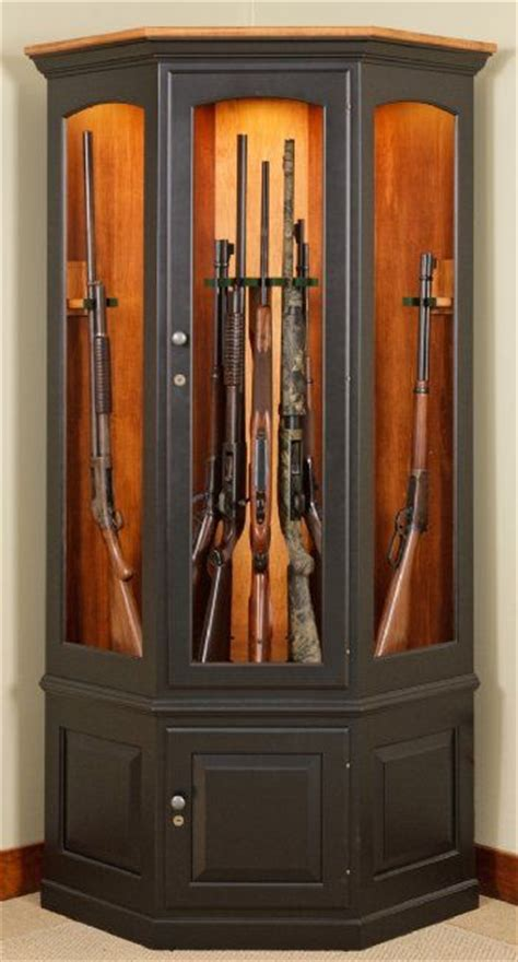 corner gun cabinet furniture pinterest cabinets