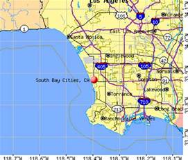 map of south bay california south bay cities california ca 90266 profile