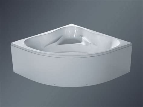 bathtub 1400mm 55 inch corner bath integral apron removable access panel