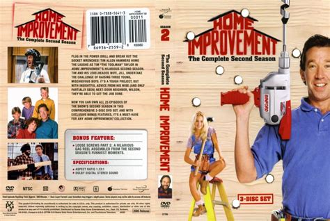 home improvements season 2 dvd scanned covers