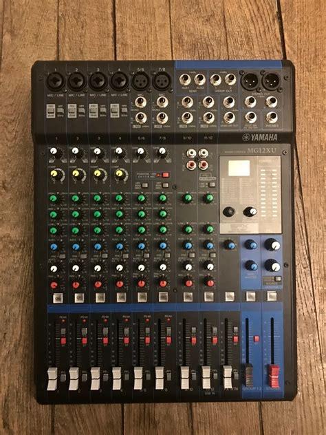 Mixer Yamaha Mg 12 Xu yamaha mg12xu image 1718162 audiofanzine