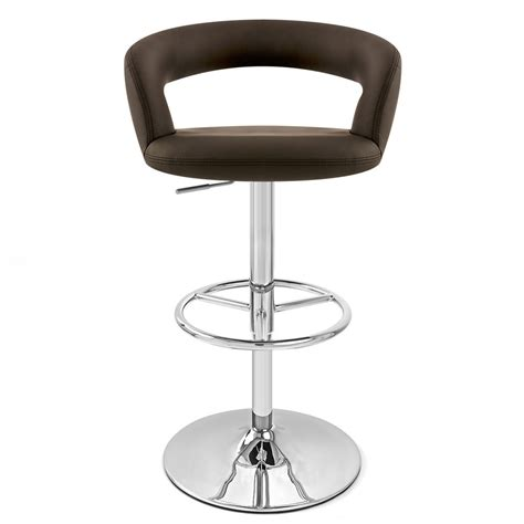 monza bar stool monza adjustable height swivel armless bar stool zuri