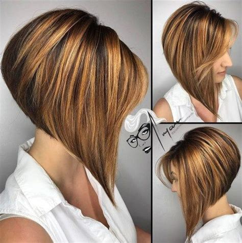 dramatic asymetrical bob 445 best angled stacked bobs images on pinterest hair