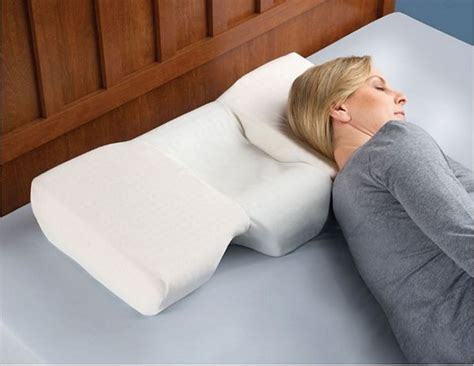 Top Side Sleeper Pillows by Best Pillow For Neck For Side Sleepers A Cozy Home