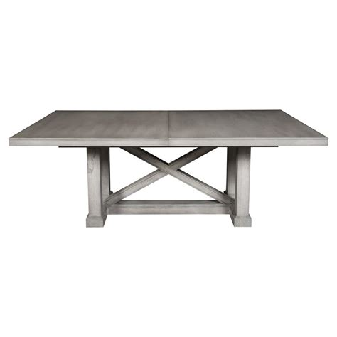Rustic Grey Dining Table Jimmy Rustic Grey Cedar Wood Adjustable Dining Table Kathy Kuo Home