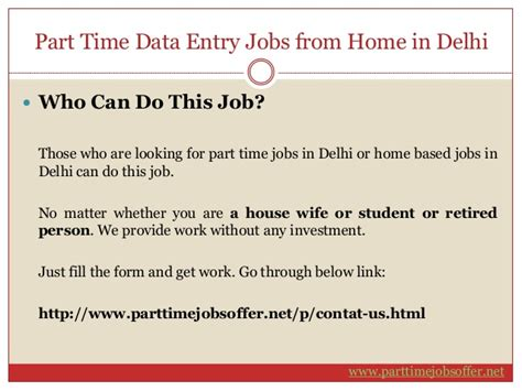 Work Part Time From Home Online Without Investment - online part time jobs work from home without investment in delhi dizijobs com