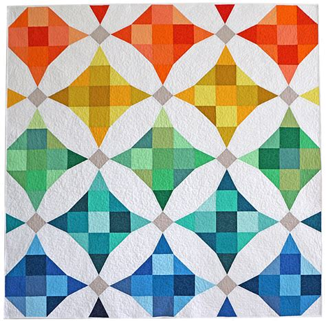 color pattern modern freshly pieced my modern solids challenge quilt plus a