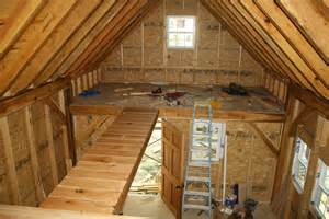 how to build an a frame cabin loft bridge and finishing timbers building a tiny timber