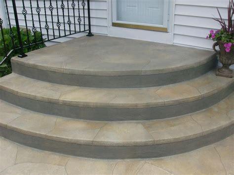 concrete stoop gallery li paving and masonry