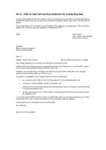 Debt Settlement Offer Letter Template by Sle Settlement Letter The Best Letter Sle