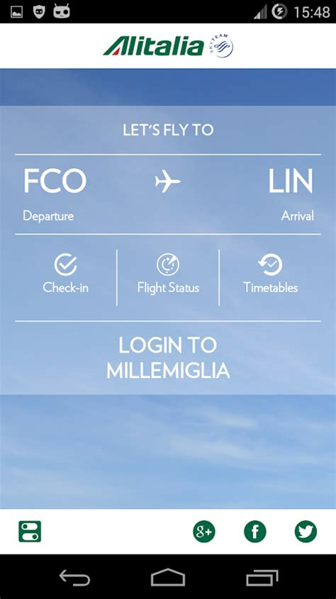 check in alitalia mobile alitalia android apps on play