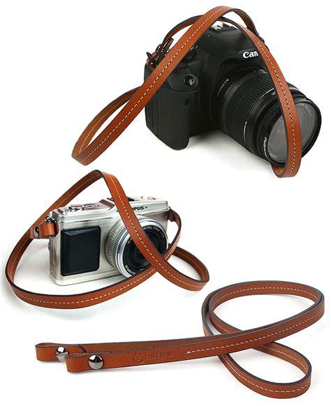 Kamera Leather Neck whole leather neck shoulder brown