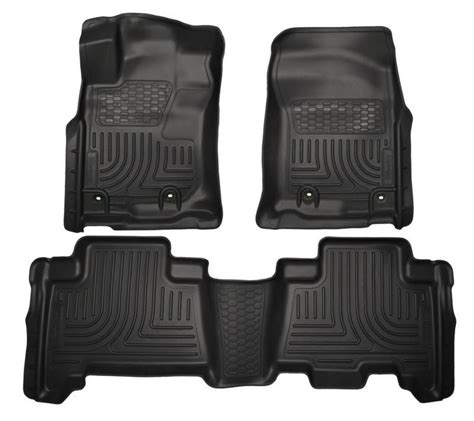 2014 Ford Fusion Floor Mats by 2013 2014 Ford Fusion Lincoln Mkz Floor Mats Husky Weatherbeater Mat Liner Black Ebay