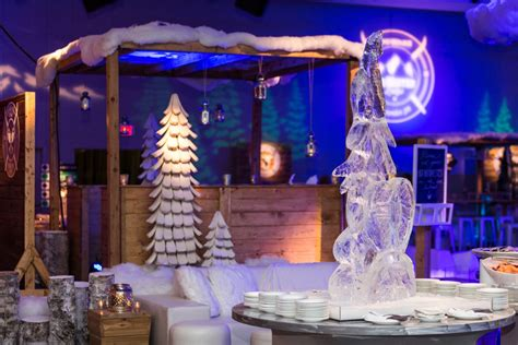 event design ltd bw food station winter lodge event site 6 events edmonton