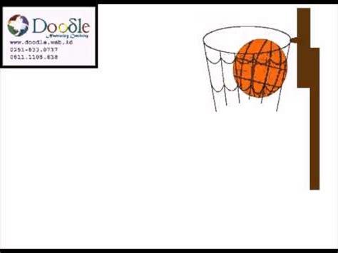 doodle bola animasi bola basket mubarak doodle student