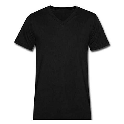 Black V Neck Shirt Sml generic plain black v neck t shirt jumia kenya