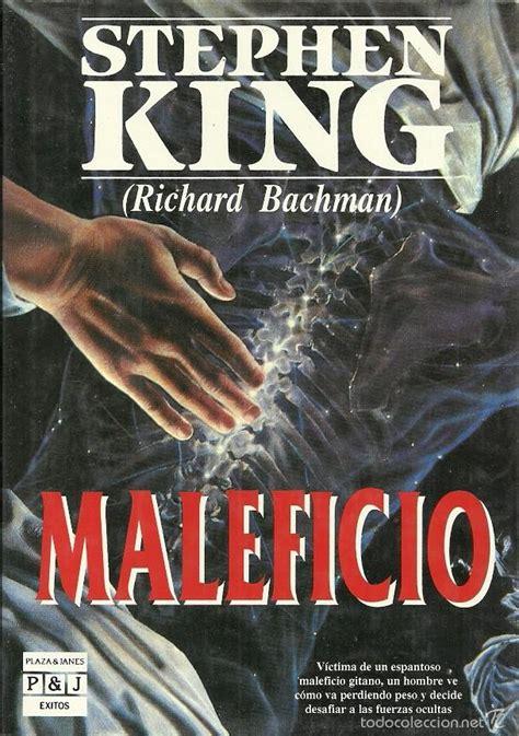 libro maleficio thinner stephen king maleficio plaza jan 233 s 1992 tapa comprar libros de terror misterio y polic 237 aco