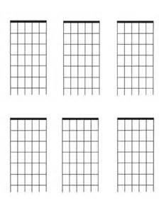 Guitar Fret Template guitar fretboard diagrams six frets