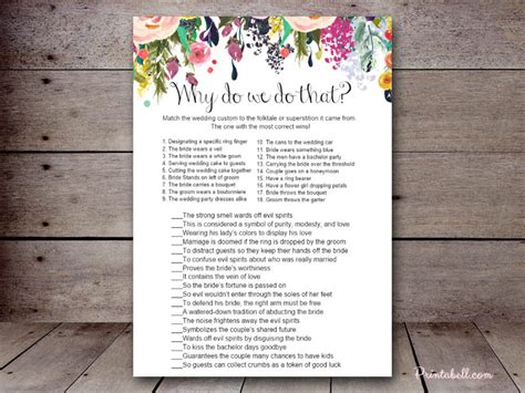 free printable bridal shower game why do we do that why do we do that printabell create