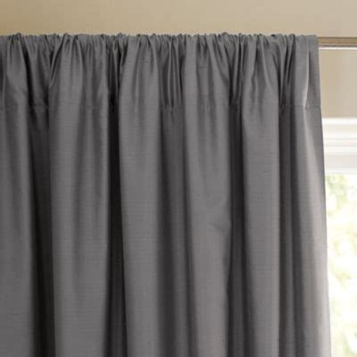 Silk Shantung Window Panel Metal Traditional Curtains