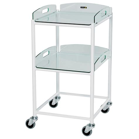 Trolley Glass sunflower glass effect dressing trolleys available to buy