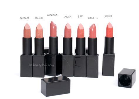 Kisses Nars Audacious Lipsticks the look book nars audacious lipsticks lip
