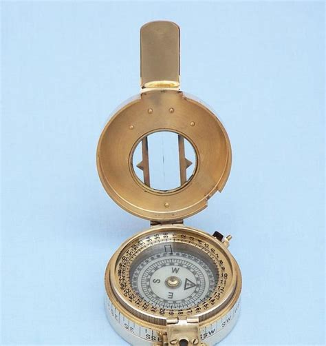 the brass compass buy solid brass engineers compass 5 inch nautical