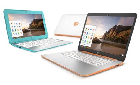 HP launches new Chromebook 11 and Chromebook 14 with Intel