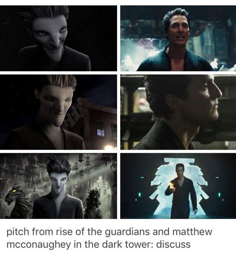 libro rise of the black pitch black from quot rise of the guardians quot and matthew mcconaughey s character the man in black