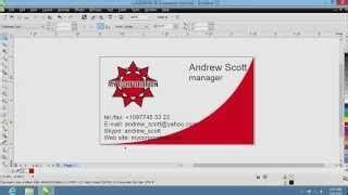 corel draw x7 yt professional business card in coreldraw pinkstrike