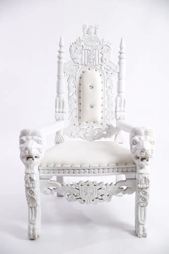 white throne chair royal throne chair white pelican ville