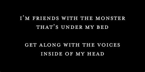 monsters under my bed lyrics pin by vilma sanchez on lyrics pinterest